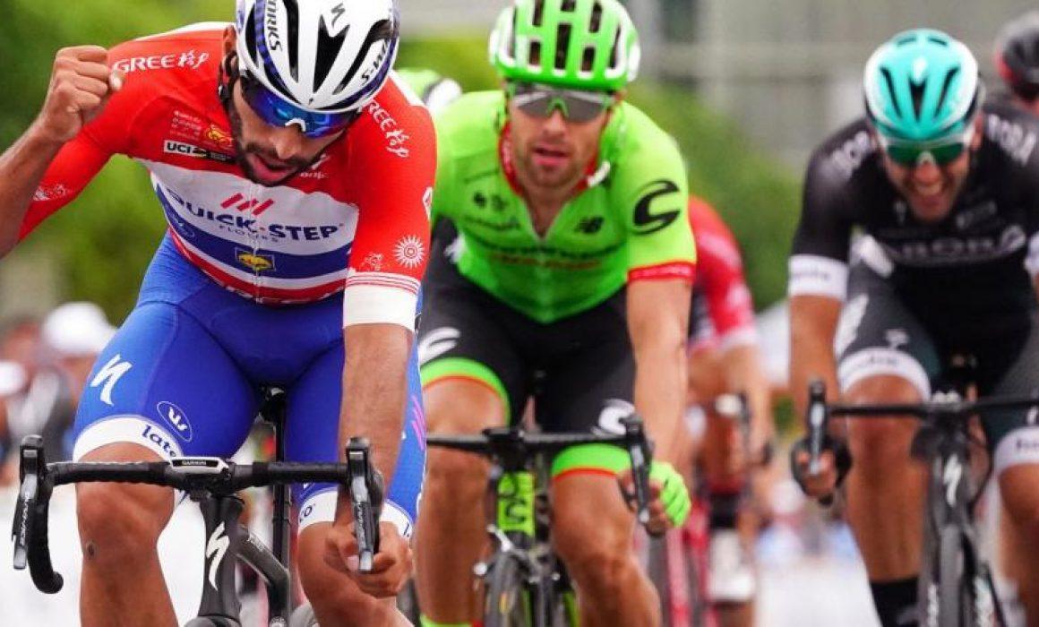 Gaviria ha vuelto a ganar otra etapa al sprint, su cuarto triunfo en China.