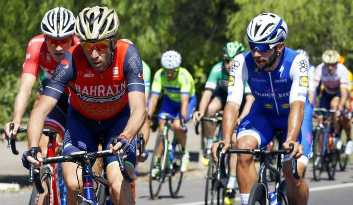 Nibali y Gaviria Ilario Biondi/Roberto Bettini - Prensa Vuelta a San Juan