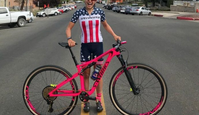 Specialized Epic S-Works 2018 de Kate Courtney