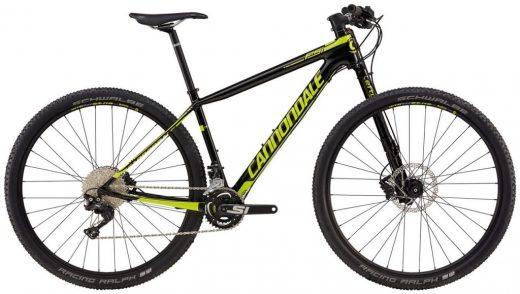 Bicicleta 29 Cannondale F-Si Carbon 4 Size L Negro / Amarillo BLK (89411)