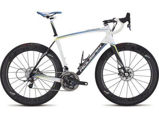 Bic. 700 Specialized Roubaix SL4 Power Disc size 54 Blanco-gris-carb-azul 76605