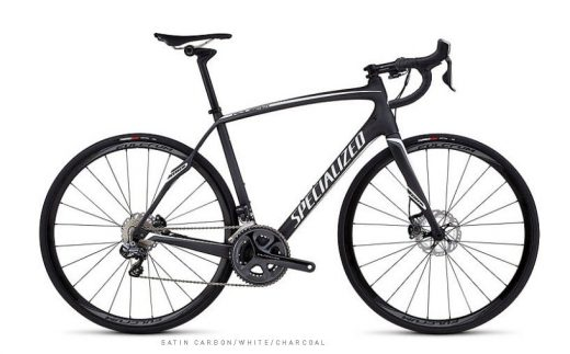 Bic. 700 Specialized Roubaix SL4 Expert Disc UDI2 size 54 carbon-blanco-characol 76645