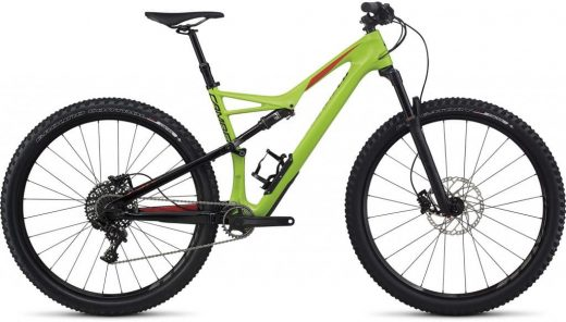Bic. 29 Specialized Camber Fsr Comp Carbon size L Verde/Negro/Rojo 87225