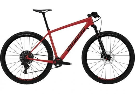 Bic. 29 Specialized Epic HT Comp Carbon Talla L Rojo / Negro (Flored/Blk) 91319-5104